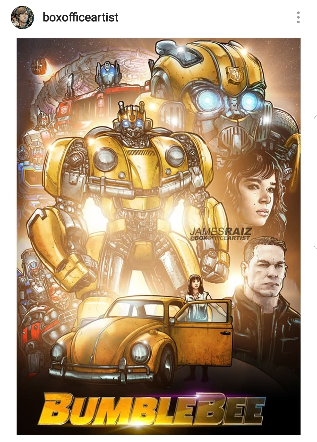 """Bumblebee"" shows us what might have been."