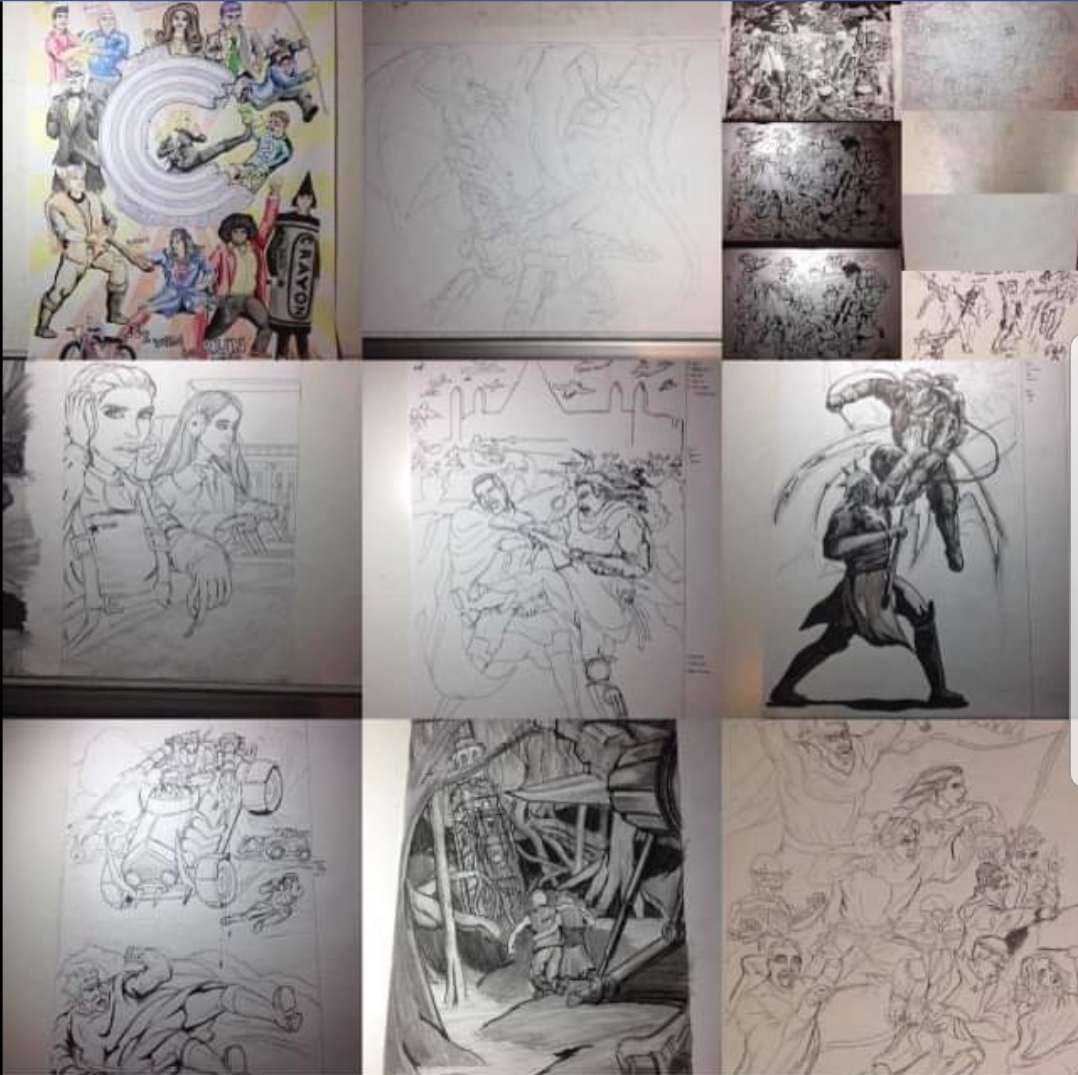 Best nine remind me I need to drawmore.