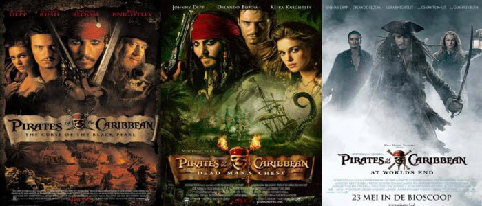 Buscamos ser Diferentes: Pirates of the Caribbean Trilogy[2003 ...